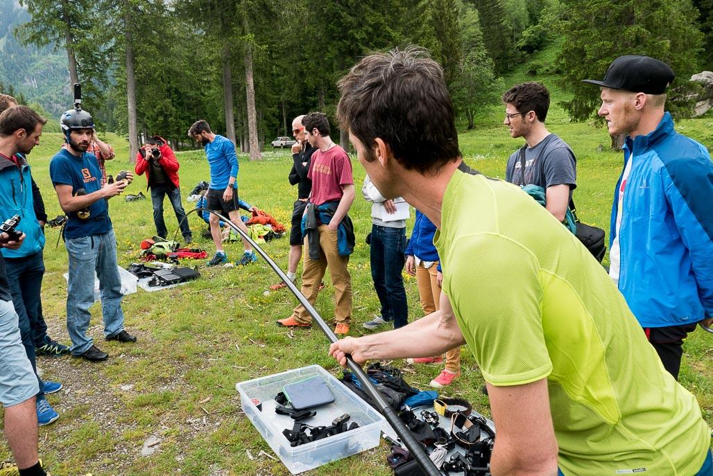 Seb Montaz Workshop in Chamonix